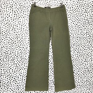 Body by Victoria Christie Fit Olive Green Pants